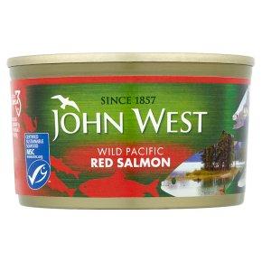 John West wild red salmon