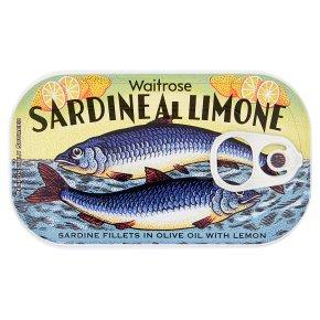 Waitrose sardine al limone