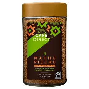Cafédirect Fairtrade Instant mountain reserve Machu Picchu