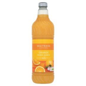 Waitrose High Juice - 50% Orange fruit juice