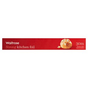 essential Waitrose aluminium foil, 30cm by 30m
