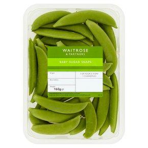 Waitrose Baby Sugar Snaps