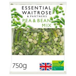 essential Waitrose pea & bean mix