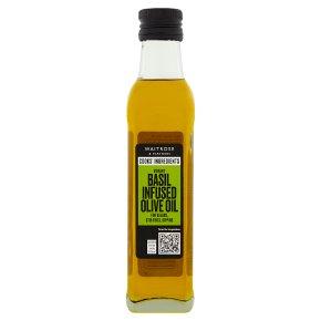 Waitrose basil infused olive oil