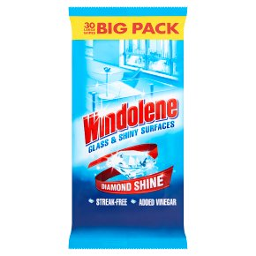 Windolene Window and Glass Cleaner 30 Wipes