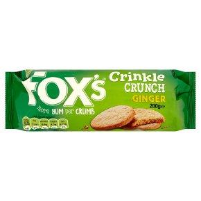 Fox's Crinkles - ginger