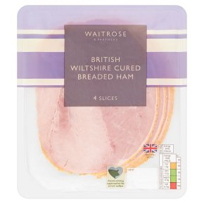 Waitrose British Wiltshire Cured Breaded Ham