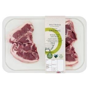 Waitrose Duchy Organic British Lamb loin chops