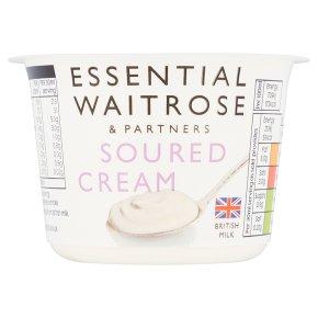 essential Waitrose soured cream