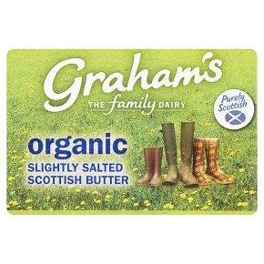 Graham's Scottish butter slightly salted