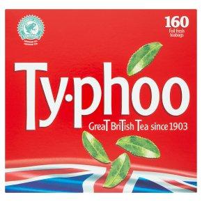 Typhoo 160 Foil Fresh Tea Bags