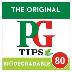 PG Tips Original Pyramid Tea Bags 80s
