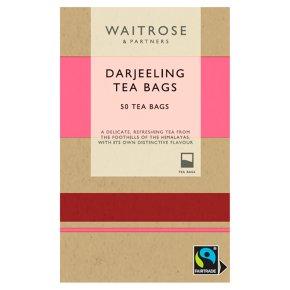 Waitrose Darjeeling tea - 50 bags