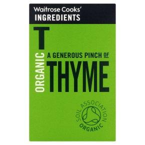 Waitrose Cooks' Ingredients organic thyme