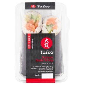 Taiko Sushi Salmon Wrap