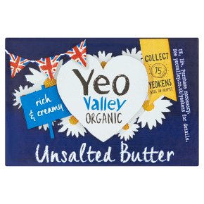 Yeo Valley Butter Unsalted