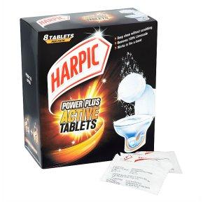 Harpic Power Plus Active 8 Tablets Toilet Cleaner