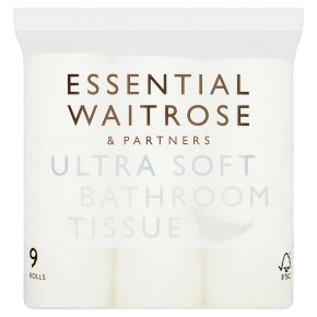 essential Waitrose Pure White Toilet Rolls