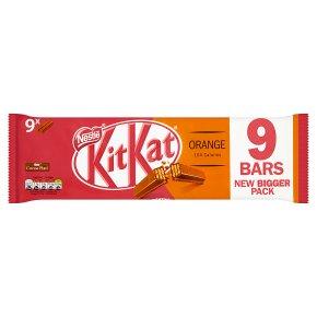 KitKat 2 Finger Orange multipack