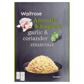 Waitrose  garlic & coriander couscous