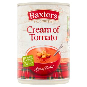 Baxters favourites soup cream of tomato