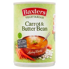 Baxters Vegetarian carrot & butterbean soup