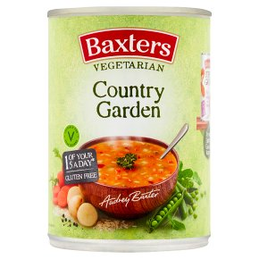 Baxters vegetarian soup country garden