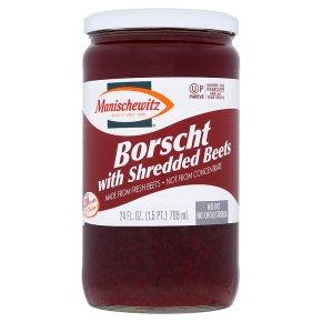 Kosher Manischewitz borscht with beets