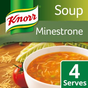 Knorr minestrone dry soup