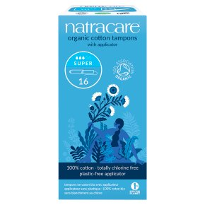 Natracare Organic Tampons - Super