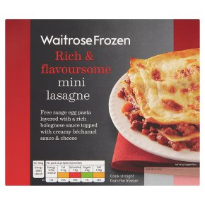 Waitrose Mini Lasagne