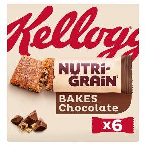 Kellogg's NutriGrain Elevenses 6 Chocolate Chip Bakes
