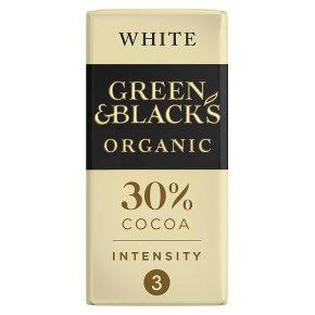 Green & Black's organic white chocolate bar
