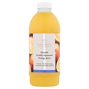 No.1 Freshly Squeezed Orange Juice Smooth