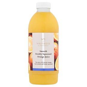 Waitrose 1 freshly squeezed smooth orange juice