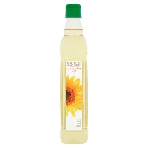 Waitrose sunflower oil