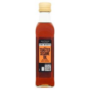 Waitrose toasted sesame oil