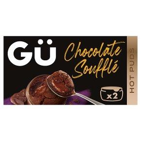 Gu 2 hot chocolate souffles