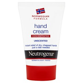 Neutrogena hand unscented cream