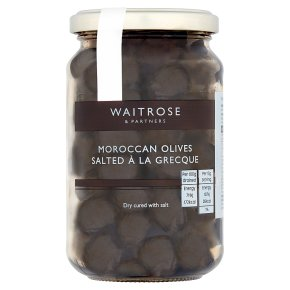 Waitrose salted à la Grecque olives