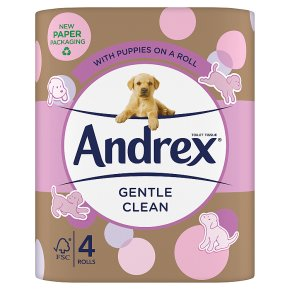 Andrex Toilet Tissue Gentle Clean