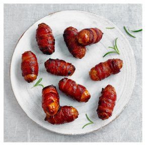 Waitrose Duchy 16 Pork Sausages Wrapped in Bacon