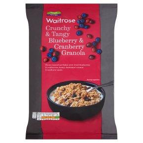 Waitrose Blueberry & Cranberry Oat Crunchie