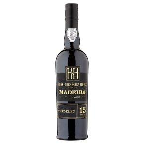 Henriques 15 Y.O. Verdelho Madeira
