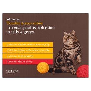 Waitrose Meat & Poultry Selection in Jelly & Gravy