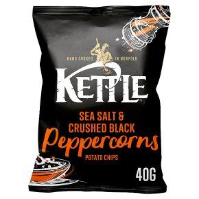 Kettle Chips Salt & Black Peppercorns Crisps