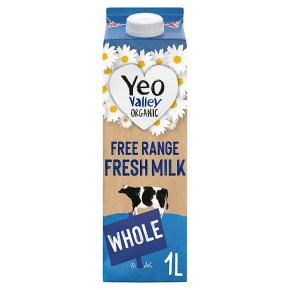 Yeo Valley organic fresh whole milk