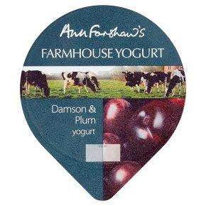 Anne Forshaw's farmhouse damson & plum yogurt