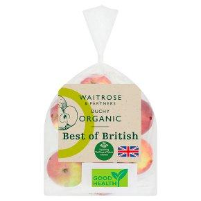 Waitrose Duchy Organic Best of British apples