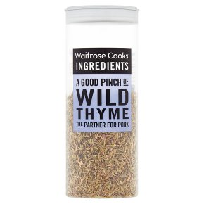 Cooks' ingredients wild thyme